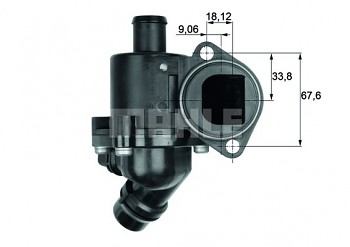Termostat AUDI A4 (B6 B7) A6 (C5) (100°)