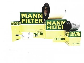Sada filtrů AUDI A1 (8X1) 1.2 1.4TFSI